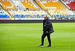 Galatasaray Head Coach Fatih Terim on the pitch at McDiarmid Park ahead of tonight's training session before facing St Johnstone in tomorrow nights Europa League qualifier second leg....11.08.21<br /><br />Picture by Graeme Hart.<br />Copyright Perthshire Picture Agency<br />Tel: 01738 623350  Mobile: 07990 594431