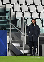 Football Soccer: UEFA Champions League -Group Stage-  Group G - Juventus vs FC Barcellona, Allianz Stadium. Turin, Italy, October 28, 2020.<br /> Juventus coach Andrea Pirlo looks on during the Uefa Champions League football soccer match between Juventus and Barcellona at Allianz Stadium in Turin, October 28, 2020.<br /> UPDATE IMAGES PRESS/Isabella Bonotto