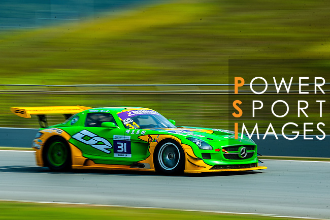 Huang Guo Quan competes during the Circuit Hero as part of the  2015 Pan Delta Super Racing Festival at Zhuhai International Circuit on September 18, 2015 in Zhuhai, China.  Photo by Aitor Alcalde / Power Sport Images