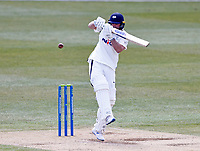 Yorkshire's Adam Lyth batse during Kent CCC vs Yorkshire CCC, LV Insurance County Championship Group 3 Cricket at The Spitfire Ground on 17th April 2021