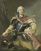Friedrich Christian (1722-63), Elector of Saxony, King of Poland - by Gottfried Boy, 1751