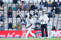 Ravichandran Ashwin, India bowling from the Pavillion end during India vs New Zealand, ICC World Test Championship Final Cricket at The Hampshire Bowl on 23rd June 2021
