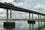 Isle of Sheppey Kent UK. The new flyover