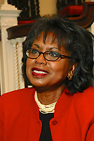 """Professor Anita Hill discusses her new book """"Reimagining Equality:Stories of Gender Race and Finding Home as part of the Cambridge Forum series How we Live Today at First Parish Church Cambridge MA 10.4.11"""