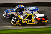 2017 Camping World Truck - NextEra Energy Resources 250<br /> Daytona International Speedway, Daytona Beach, FL USA<br /> Friday 24 February 2017<br /> Spencer Gallagher, Cody Coughlin<br /> World Copyright: John K Harrelson / LAT Images<br /> ref: Digital Image 17DAY2jh_04950