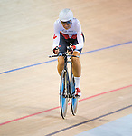 MILTON, ON, AUGUST 11, 2015. Cycling at the Velodrome. Canadian Nicole Clermont (C-5W)<br /> Photo: Dan Galbraith/Canadian Paralympic Committee