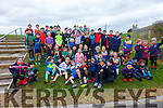 Some of the players who took part in the West Munster Mini Rugby Blitz at the OTW Sports Complex in Cahersiveen with players from Killorglin RFC, Castleisland RFC & hosted by Iveragh Eagles.