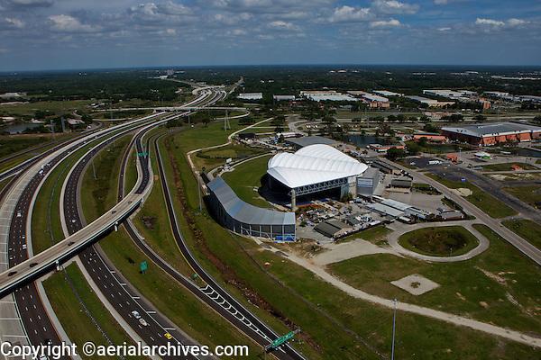 aerial photograph Florida State Fairgrounds, Interstate 4, Tampa, Florida