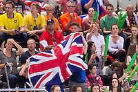 Supporters<br /> London, Queen Elizabeth II Olympic Park Pool <br /> LEN 2016 European Aquatics Elite Championships <br /> Swimming<br /> Day 09 17-05-2016<br /> Photo Giorgio Perottino/Deepbluemedia/Insidefoto