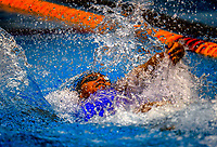 Gabrielle Fa'amausili (50m backstroke). Session ten on day five of the 2017 National Age Group Swimming Championships at  Wellington Regional Aquatic Centre in Wellington, New Zealand on Saturday, 25 March 2017. Photo: Dave Lintott / lintottphoto.co.nz