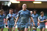 Cardiff Blues v Leicester Tigers - Heineken Cup Semi-Final at the Millennium Stadium in Cardiff..Gethin Jenkins of the Cardiff Blues after the final whistle..