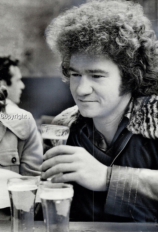 1974 FILE PHOTO - ARCHIVES -<br /> <br /> Robert Charlebois<br /> <br /> PHOTO :  Keith  BEATY  - Toronto Star Archives - AQP
