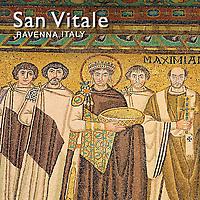 Pictures of San Vitale Byzantine Roman Mosaics, Ravenna