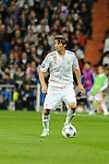 Real Madrid´s Fabio Coentrao during 2014-15 Champions League match between Real Madrid and FC Shalke 04 at Santiago Bernabeu stadium in Madrid, Spain. March 10, 2015. (ALTERPHOTOS/Luis Fernandez)