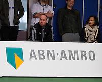 18-01-14,Netherlands, Rotterdam,  TC Victoria, Wildcard Tournament, Martin Verkerk (NED) coach of Fabian van der Lans<br /> Photo: Henk Koster