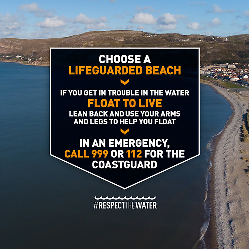 RNLI & HM Coastguard Launch Beach Safety Campaign as Coastal Visits Expected to Soar this Summer