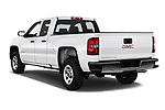 Car pictures of rear three quarter view of a 2019 GMC Sierra 1500 Limited Base 4 Door Pick Up angular rear