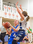 Scenes from the North East High School v Tome School girl's basketball game at the Tome School in North East, Maryland