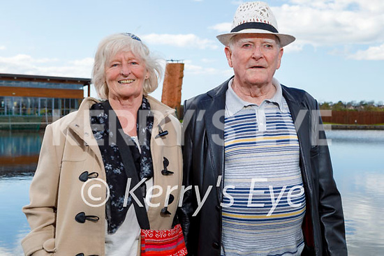 Enjoying a stroll at the Tralee Bay Wetlands on Tuesday, l to r: Margaret and Joseph Rooney.