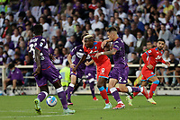 3rd October 2021; Franchi Stadium, Florence, Italy; Serie A football, Fiorentina versus Napoli : Victor Osimhen of Napoli