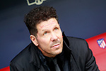 Atletico de Madrid's coach Diego Pablo Cholo Simeone during La Liga match. January 20,2018. (ALTERPHOTOS/Acero)