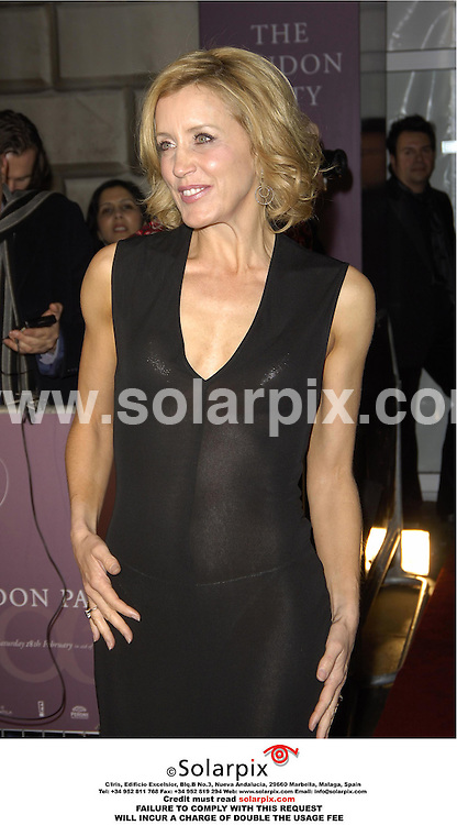"""ALL ROUND PICTURES BY SOLARPIX.COM.Celebrity Guests arriving at the """"The London Party"""" pre Bafta held at  Sencer House in the west End of London tonight sponsored by United International Pictures & Variety Magazine..18.2.06.JOB REF MSR 2143"""