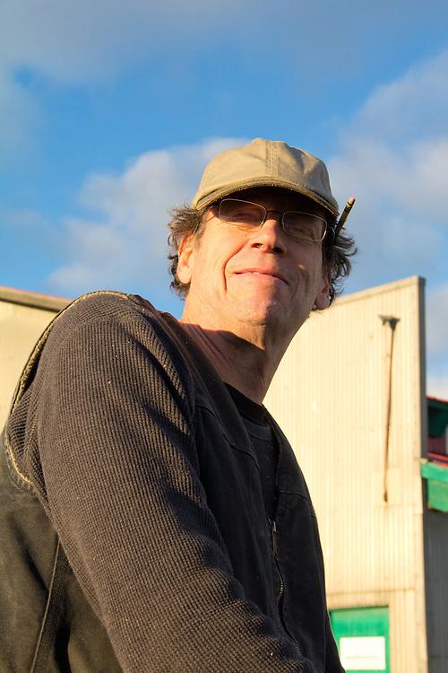 Mark Miller, waterman, shipwright, guitar msker, Port Townsend, Washington State,