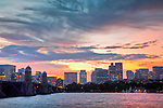 Dawn on the Charles River, Boston, MA, USA