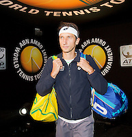 Februari 13, 2015, Netherlands, Rotterdam, Ahoy, ABN AMRO World Tennis Tournament, Sergiy Stakhovsky (UKR)<br /> Photo: Tennisimages/Henk Koster