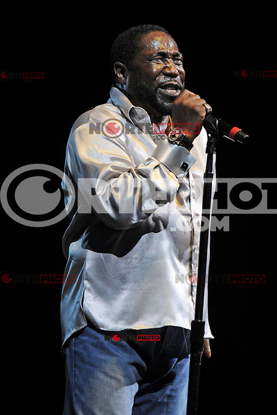 HOLLYWOOD FL - JUNE 22 : Eddie Levert performs during Don King's 80th birthday celebration at Hard Rock live held at the Seminole Hard Rock Hotel & Casino on June 22, 2012 in Hollywood, Florida. © mpi04/MediaPunch Inc NORTEPHOTO.COM<br />