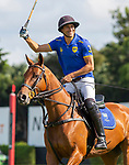 March 07, 2021:  Park Place Polo Club defeats Scone Polo Club 11-10 in Overtime, in the C. V. Whitney Final, at the International Polo Club, Palm Beach, on March 07, 2021, in Wellington, Florida. Park Place's Jack Whitman was Most Valuable Player.  Hilario Ulloa's Lavinia Heroica was Best Playing Pony. (Photo by Liz Lamont/Eclipse Sportswire/CSM