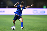 Elisa Bartoli of Italy in action during the Women s EURO 2022 qualifying football match between Italy and Denmark at stadio Carlo Castellani in Empoli (Italy), October, 27th, 2020. Photo Andrea Staccioli / Insidefoto