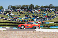 Andy Grant, Ford Focus, Retro 4WD heads to the start line from Park Ferme during the 5 Nations BRX Championship at Lydden Hill Race Circuit on 31st May 2021