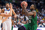 Unicaja Malaga's player Jaycee Carroll during match of Liga Endesa at Barclaycard Center in Madrid. September 30, Spain. 2016. (ALTERPHOTOS/BorjaB.Hojas)
