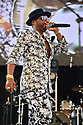 MIRAMAR, FL - AUGUST 22: De Cache Santos performs on stage during the 'Festival Restauracion Dominicana' at Miramar Regional Park Amphitheater on August 22, 2021 in Miramar, Florida.  ( Photo by Johnny Louis / jlnphotography.com )