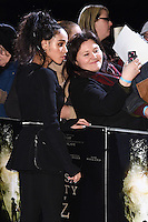 """FKA Twiggs<br /> at the """"Lost City of Z"""" premiere held at the British Museum, London.<br /> <br /> <br /> ©Ash Knotek  D3229  16/02/2017"""