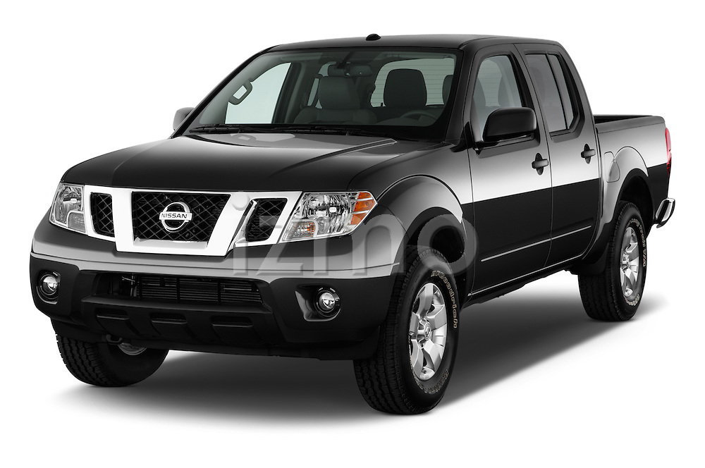 Front three quarter view of a 2013 Nissan Frontier Crew Cab SV 4wd2013 Nissan Frontier Crew Cab SV 4wd