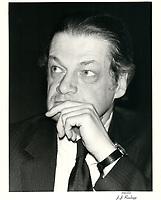 Michel Belanger, 1980 <br /> <br /> PHOTO :  Agence Quebec Presse