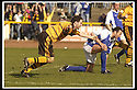 06/04/2002                 Copyright Pic : James Stewart .Ref :     .File Name : stewart-alloa v qos   04.ROSS HAMILTON CELEBRATES AFTER SCORING ALLOA'S THIRD GOAL......James Stewart Photo Agency, 19 Carronlea Drive, Falkirk. FK2 8DN      Vat Reg No. 607 6932 25.Office     : +44 (0)1324 570906     .Mobile  : + 44 (0)7721 416997.Fax         :  +44 (0)1324 630007.E-mail  :  jim@jspa.co.uk.If you require further information then contact Jim Stewart on any of the numbers above.........