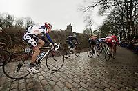3 Days of West-Flanders, .day 3: Nieuwpoort-Ichtegem.Tosh Van der Sande on the Kemmelberg