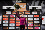 World Champion Anna Van der Breggen (NED) Boels Dolmans Cyclingteam wins and takes over the lead of the UCI Womens Tour at the end of La Fleche Wallonne Femmes 2020, running 124km from Huy to Mur de Huy, Belgium. 30th September 2020.<br /> Picture: ASO/Thomas Maheux | Cyclefile<br /> All photos usage must carry mandatory copyright credit (© Cyclefile | ASO/Thomas Maheux)