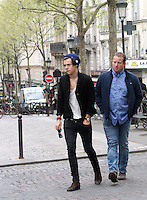 April 28th, 2013 - Paris..Harry Styles enjoys the day strolling with friend through Montmartre the most beautiful village of Paris...****** BYLINE MUST READ : © Spread Pictures ******..****** No Web Usage before agreement ******..****** Stricly No Mobile Phone Application or Apps Use Without our Prior Agreement ******..Enquiries at photo@spreadpictures.com