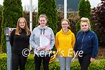St Brigids Presentation Killarney students Julia Jaz, Eimear Fahy, Sarah McMahon and Abbie Shine got their Leaving Cert started  on Wednesday