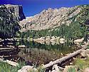 DREAM LAKE, HALLETT PEAK, AND FLATTOP MOUNTAIN<br /> ROCKY MOUNTAIN NATIONAL PARK, COLORADO