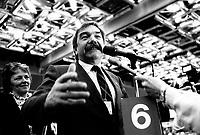 FILE PHOTO -  John Harney<br /> <br /> Congres du Nouveau Parti Democratique du Canada, le 15 mars 1987.<br /> <br /> <br /> Photo  :  Denis Alix - Agence Quebec Presse
