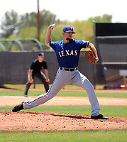 Nic Laio - Texas Rangers 2019 extended spring training (Bill Mitchell)