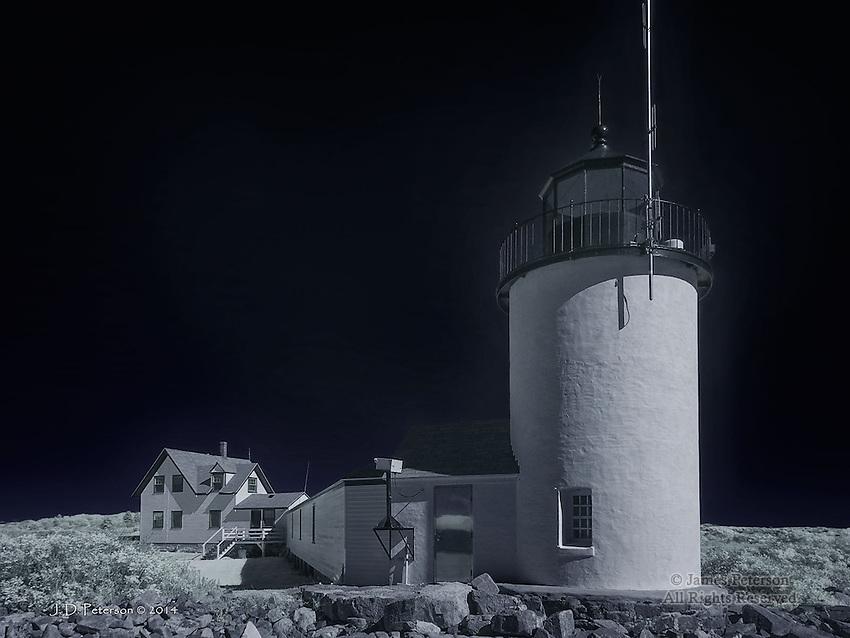 The Goat Island Light, Maine