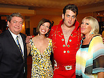 Jon Iszard, Roseann Rogers, Justin Dollar and Lara Bell at the Health Museum Casino Party at the Four Seasons Hotel Saturday Aug. 15, 2009.(Dave Rossman/For the Chronicle)