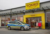 05.02.2019: Überfall auf den Takko Markt im Helvetia Parc