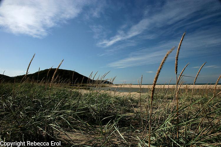 Beach at Agva on the Black Sea Coast, Turkey